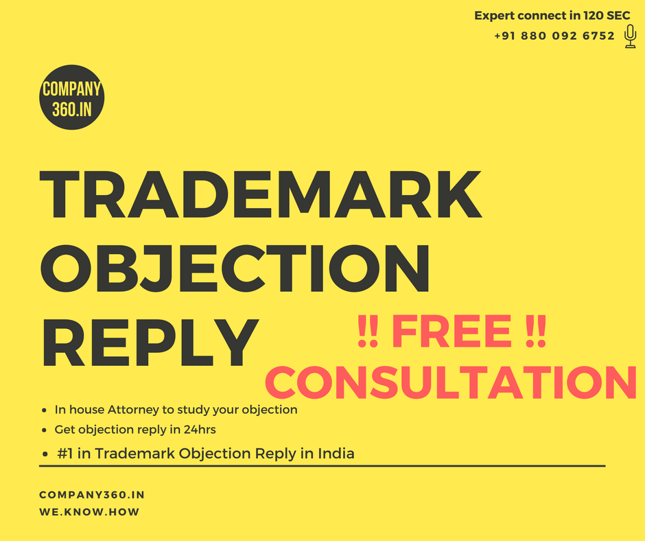 Trademark Objection in India