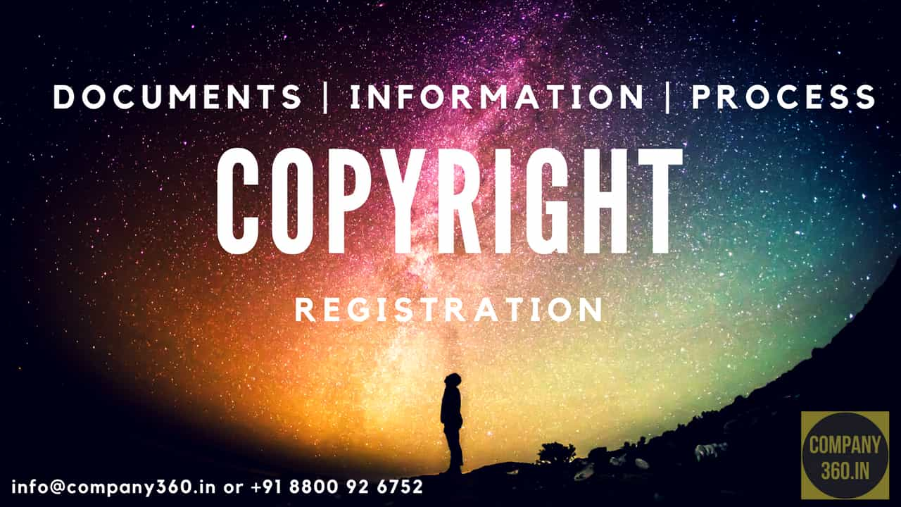 Copyright Registration in India Documents and Information